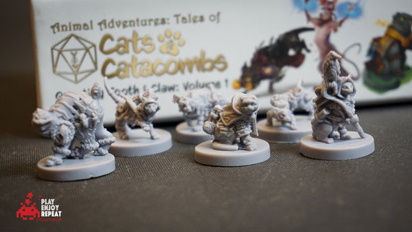 Animal Adventures Cats and Catacombs Volume 1