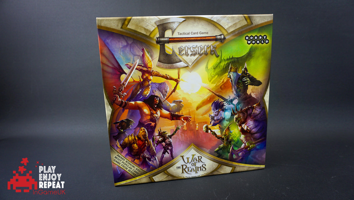 Berserk War of the Realms Tactical card game Hobby World
