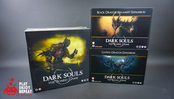 Dark Souls The Board Game, Black Dragon Kalameet and Gaping Dragon Expansions
