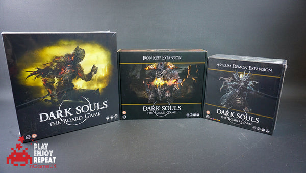 Dark Souls The Board Game, Iron Keep Expansion and Asylum Demon Expansion