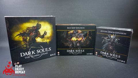 Dark Souls The Board Game and Iron Keep and Asylum Demon Expansion