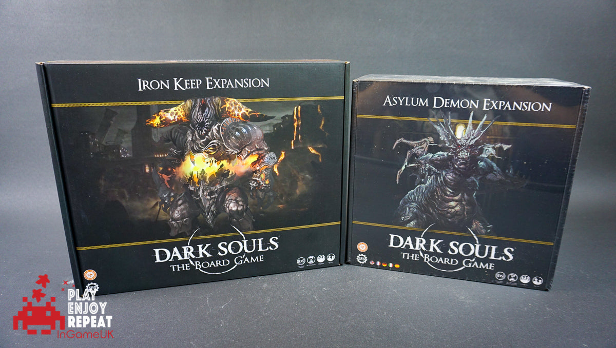 Dark Souls The Board Game Iron Keep Expansion and Asylum Demon Expansion