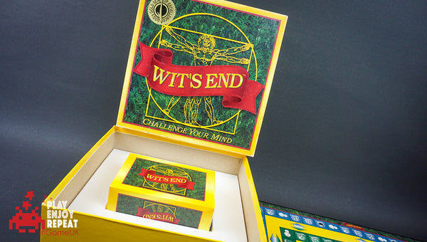 Wits End Board Game Family Party Quiz Trivia Riddles And Teasers