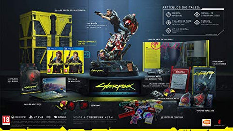 Cyberpunk 2077 Collector's Edition PC PS4 xBox One PRE ORDER PREORDER November FREE UK POST
