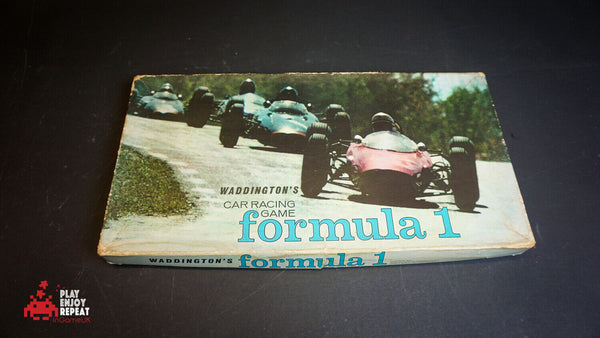 Vintage FORMULA 1 Motor Racing Board Game 1962 Family Fun Complete VGC FREE UK P
