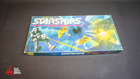 1980 WADDDINGTONS STARSHIPS SPACE RACE BOARD GAME FAST AND FREE UK POSTAGE