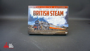 THE GLORY DAYS OF BRITISH STEAM 5 DVD BOX SET FAST AND FREE UK POSTAGE