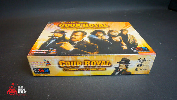 Coup Royal Board Game by GGE Fast Free UK Postage
