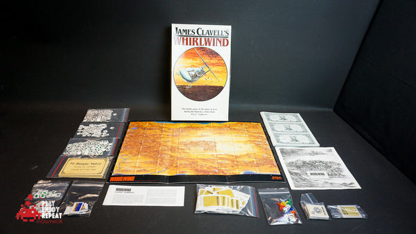 James Clavell's Whirlwind 1986 Board Game FAST AND FREE UK POSTAGE