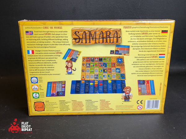 Tasty Minstrel Game Samara Board Game NEW AND SEALED FAST AND FREE UK POSTAGE