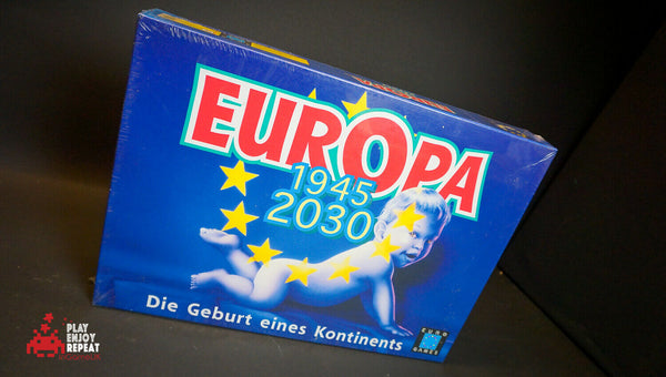 Europa 1945-2030 1998 Eurogames Board Game FAST FREE UK POSTAGE