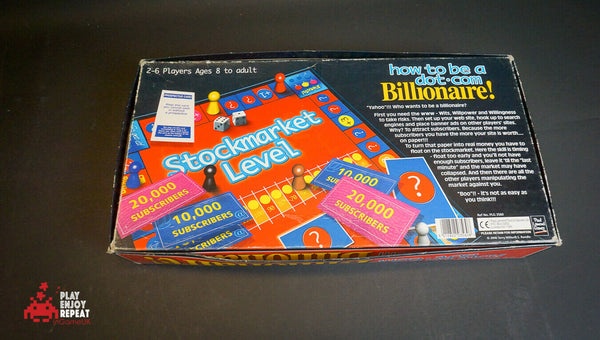 New Sealed How To Be A Dot.com Billionaire Board Game 2000