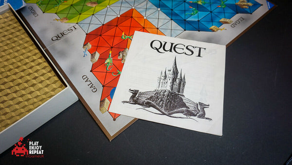 Ravensburger Quest 1984 Board Game FAST AND FREE UK POSTAGE