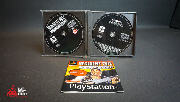 Rare And Collectable Resident Evil Director's Cut Sony 1997 PS1 FAST FREE UK PP