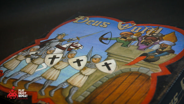 Deus Vult! 2005 NEW Board Game Rose & Poison FAST AND FREE UK POSTAGE