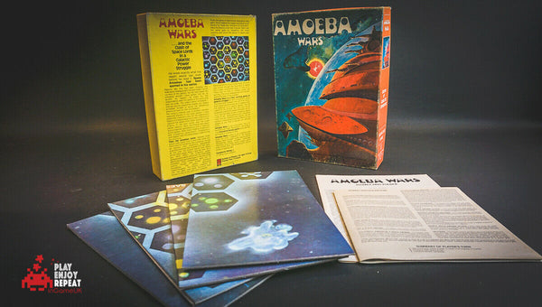 AMOEBA WARS RARE VINTAGE AVALON HILL GAME OF GALACTIC CONQUEST FREE UK POST