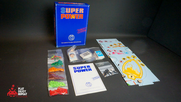 Vintage Games Workshop SUPERPOWER Board Game FAST FREE UK POSTAGE