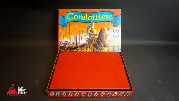 Eurogames Boardgame Condottiere English-Only Ed VGC FAST AND FREE UK POSTAGE
