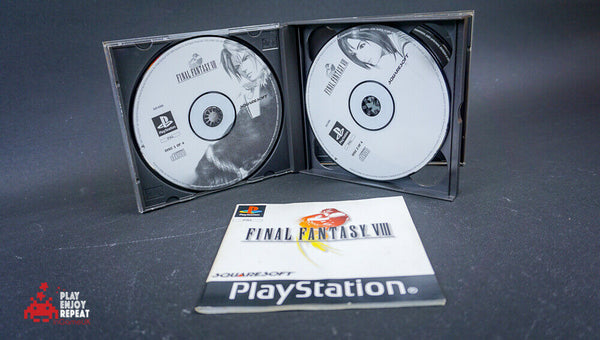 Final Fantasy VIII FF8 PlayStation 1 PS1 Complete PAL FAST AND FREE UK POSTAGE