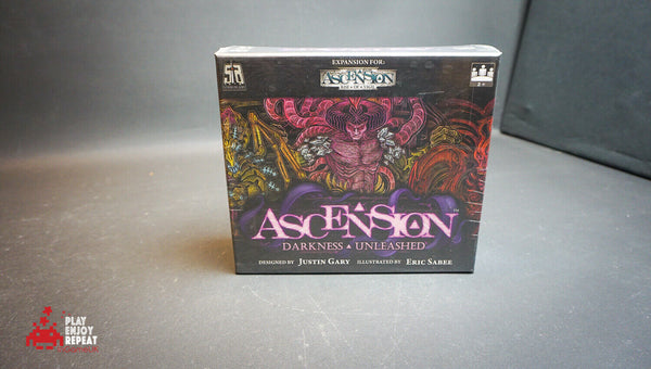 Ascension Darkness Unleashed 2013 Board Game FAST AND FREE UK POSTAGE