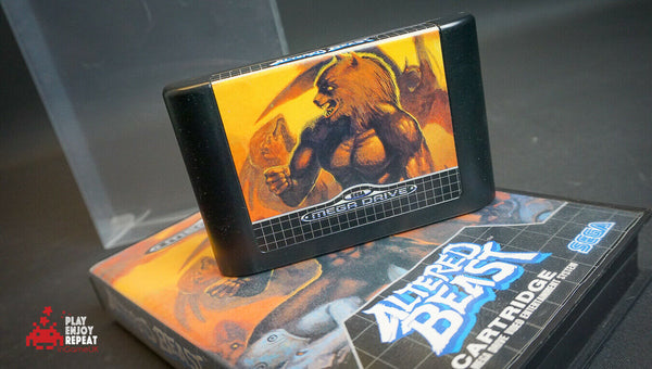 ALTERED BEAST Sega Mega Drive Game COMPLETE PAL Version Megadrive FREE UK POST