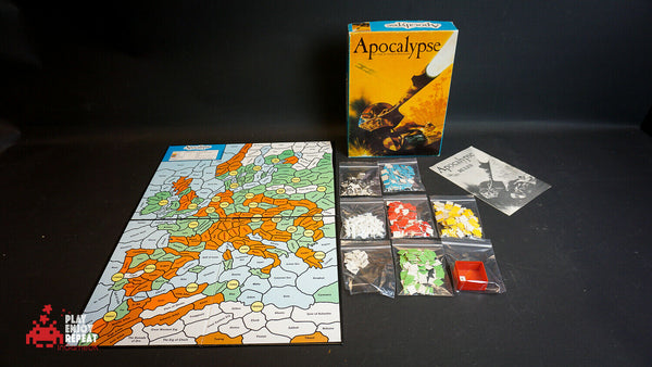Apocalypse The Game of Nuclear Devastation 1980 Board Game FAST AND FREE UK PP
