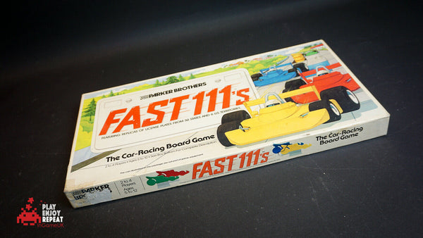 Parker Brothers Fast 111's Board Game 1981 Vintage FAST AND FREE UK POSTAGE