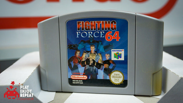 FIGHTING FORCE 64 NINTENDO 64 PAL COMPLETE VG CONDITION FAST AND FREE UK POSTAGE