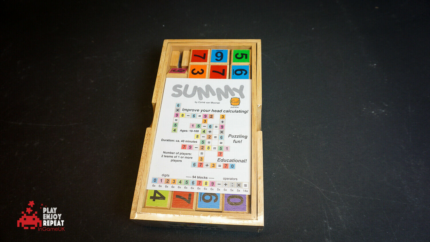 Summy 2010 Board Game FAST AND FREE UK POSTAGE