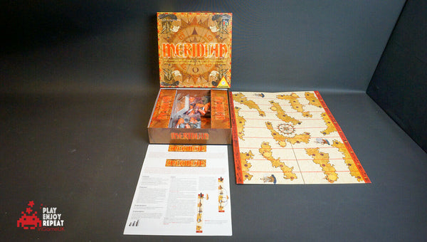 Meridian Strategy Board Game New unopened copy with some box damage