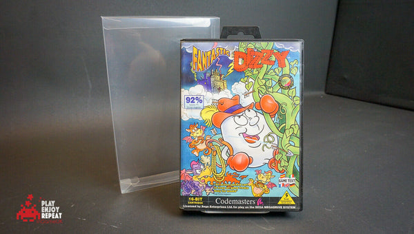 FANTASTIC DIZZY SEGA MEGA DRIVE GENESIS GAME BOXED WITH MANUAL OFFICIAL UK PAL