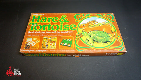 Vintage Waddingtons Hare And Tortoise Board Game GC FAST AND FREE UK POSTAGE