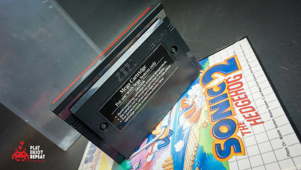Sega Master System Sonic The Hedgehog 2 VGC FAST AND FREE UK POSTAGE