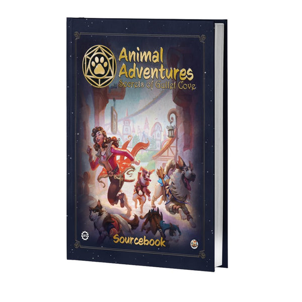 Animal Adventures Secrets of Gullet Cove Sourcebook and Miniatures BUNDLE! PREORDER