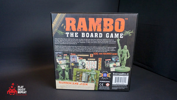 Rambo The Board Game ~ Core Game
