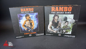 Rambo The Board Game ~ Core Game AND First Blood (Solo Story)