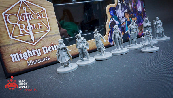 D&D Critical Role ~ The Mighty Nein Miniatures