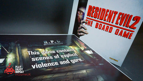 Resident Evil 2: The Board Game Includes Sherry Birkin PROMO