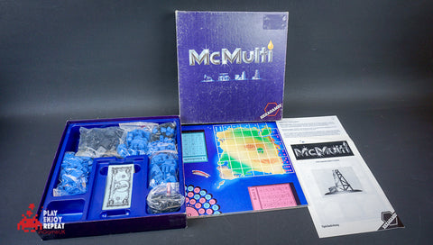 Vintage McMulti Oil Business Boardgame by Hexagame