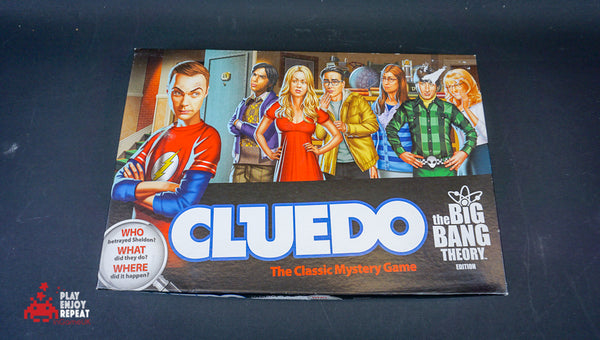 Cluedo The Big Bang Theory Board Game
