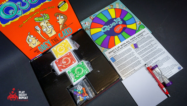 Quelf The Unpredictable Party Game by Imagination Board Game