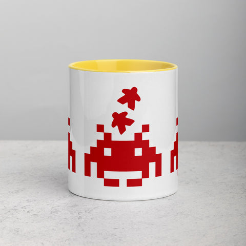 Invader Mug with Color