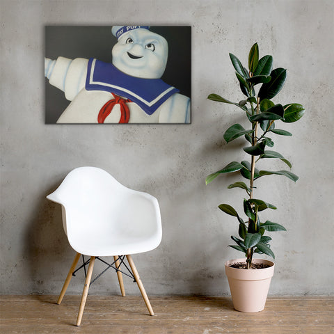 The Stay Puft Marshmallow Man Canvas