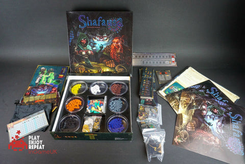 BOARD GAME SHAFAUSA CHRISTOPHE BORGEAT HELVETIA GAMES 2012