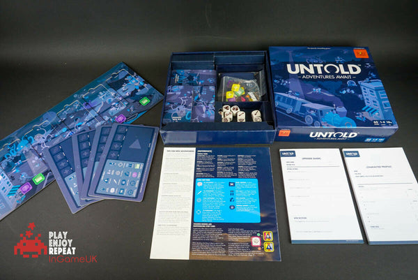 Untold Board Game TV Fairy Tales Fantasy Children's Strategy