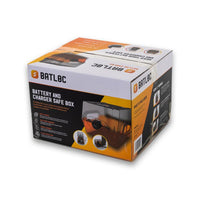 BATLOC - Battery and Charger Safe Box