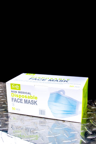 Disposable Non-Surgical/Non-Medical Mask (50-Pack)