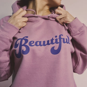 Soft Purple Beautiful Hoodie