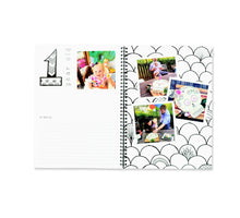 Load image into Gallery viewer, Blueberry Co The Monochrome Baby Book Rainbow Edition - Mumma and Mia