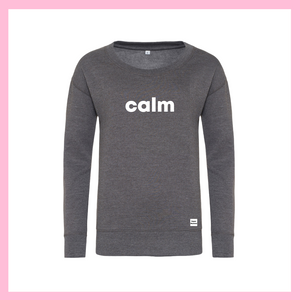 White Calm Grey Jumper